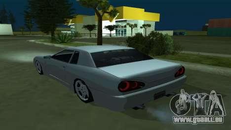 Elegy 280sx pour GTA San Andreas vue de côté