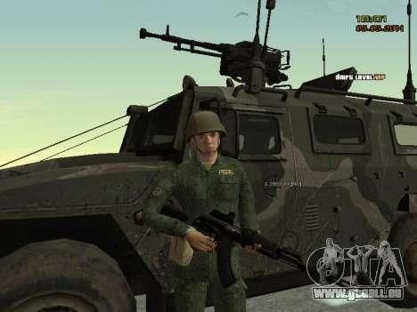 L'armée russe moderne pour GTA San Andreas septième écran