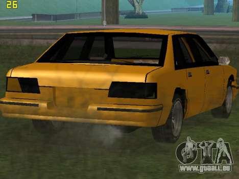 Premier 2012 pour GTA San Andreas vue intérieure