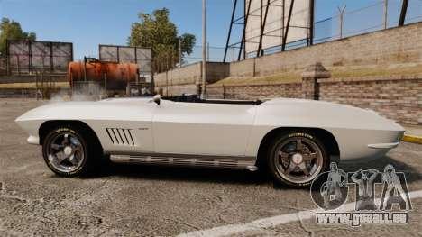 Chevrolet Corvette Stingray für GTA 4 linke Ansicht
