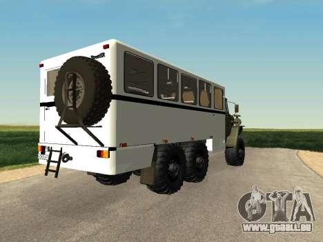 Oural 32551-0011 Regarder pour GTA San Andreas laissé vue