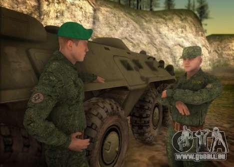 L'armée russe moderne pour GTA San Andreas deuxième écran