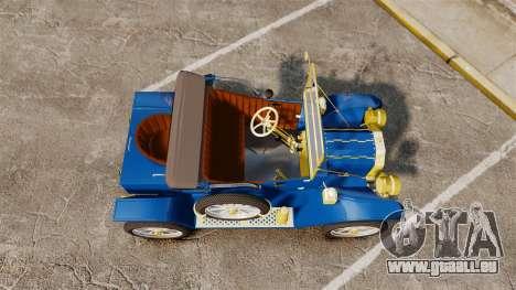 Ford Model T 1912 pour GTA 4 est un droit