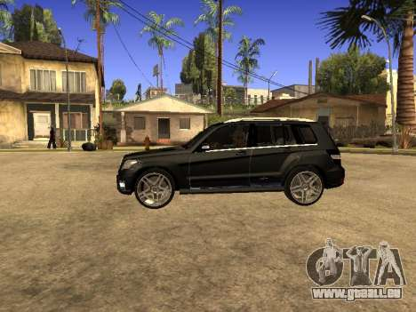 Mercedes-Benz GLK pour GTA San Andreas vue arrière