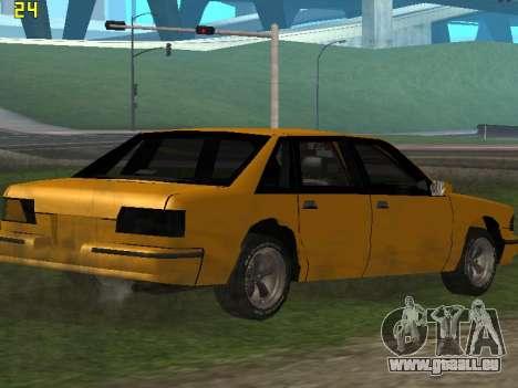 Premier 2012 pour GTA San Andreas vue de côté