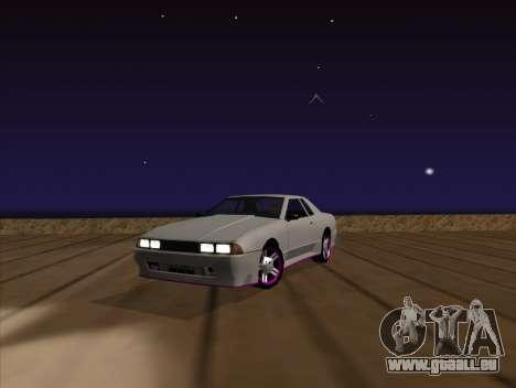 Elegy by MegaPixel pour GTA San Andreas vue arrière