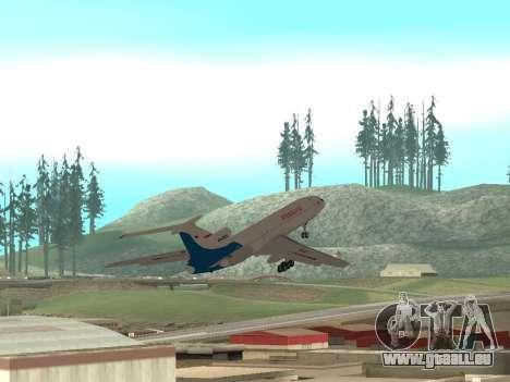 Tu-154 B-2 SCC Russland für GTA San Andreas obere Ansicht