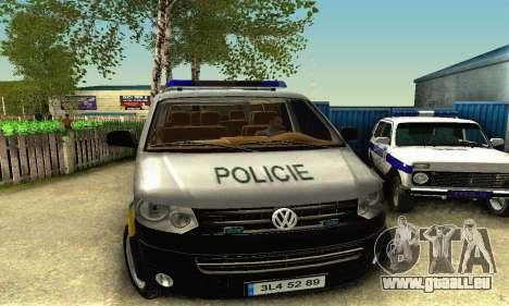 Volkswagen Transporter Policie pour GTA San Andreas laissé vue