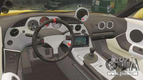 Toyota Supra 1994 (Mark IV) Slap Jack pour GTA 4 est un côté