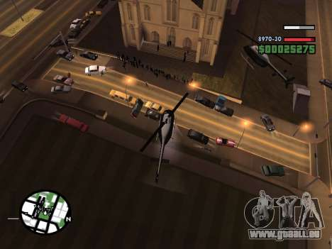 SA-MP 0.3z pour GTA San Andreas sixième écran