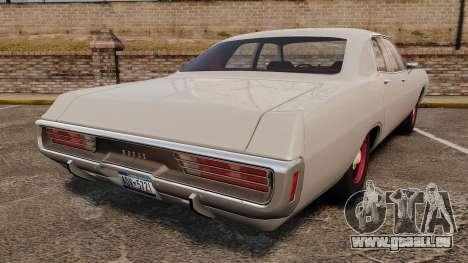 Dodge Polara 1971 pour GTA 4 Vue arrière de la gauche