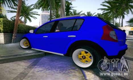 Dacia Sandero für GTA San Andreas linke Ansicht