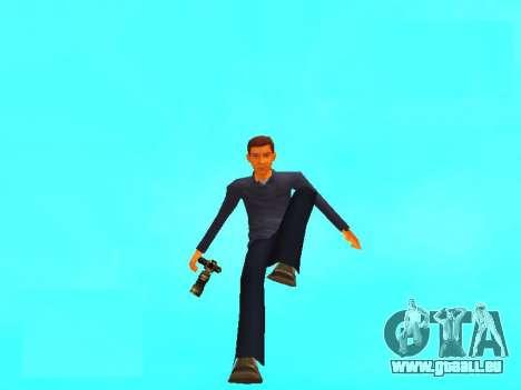 Peter Parker du jeu Spider-Man 2 pour GTA San Andreas deuxième écran