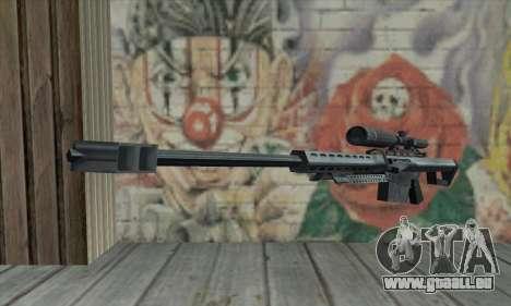 M82A1 Barret .50cal für GTA San Andreas
