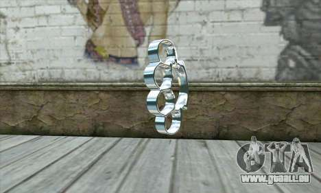 Brass knuckles für GTA San Andreas