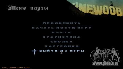 C-HUD A.C.A.B pour GTA San Andreas quatrième écran