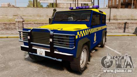 Land Rover Defender HM Coastguard [ELS] pour GTA 4