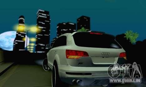 Audi Q7 für GTA San Andreas Seitenansicht