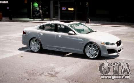 Jaguar XF-R 2012 v1.2 pour GTA 4 Salon