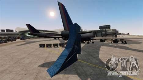 Astuce-parking à l'aéroport pour GTA 4 quatrième écran