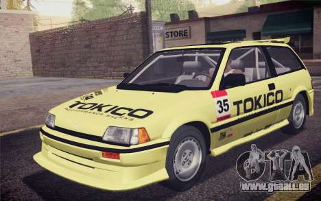 Honda Civic S 1986 IVF pour GTA San Andreas roue