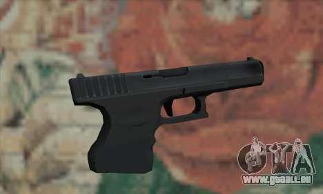 Le pistolet de L4D pour GTA San Andreas deuxième écran