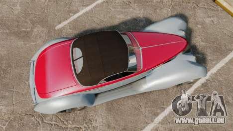 Ford Roadster 1936 Chip Foose 2006 für GTA 4 rechte Ansicht