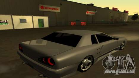 Elegy 280sx pour GTA San Andreas sur la vue arrière gauche