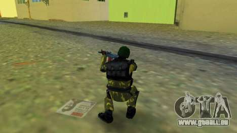 Soldat der Special Forces für GTA Vice City dritte Screenshot