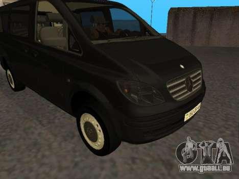 Mercedes-Benz Vito für GTA San Andreas linke Ansicht