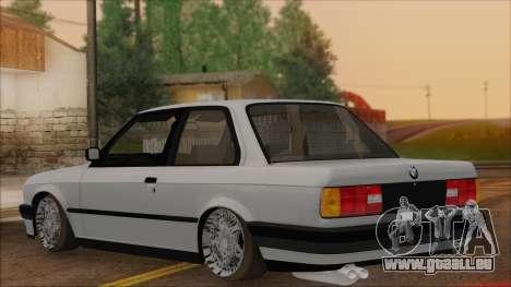 BMW M5 E30 für GTA San Andreas linke Ansicht