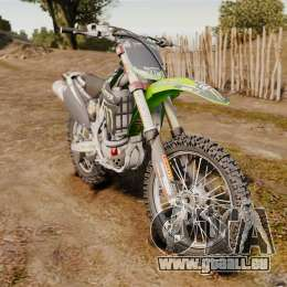 Kawasaki KX250F Monster Energy pour GTA 4
