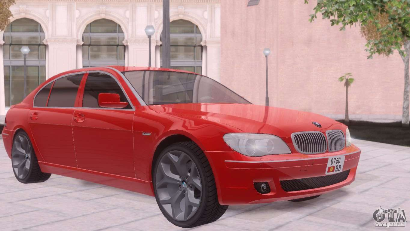 BMW 750Li E66 Fur GTA San Andreas