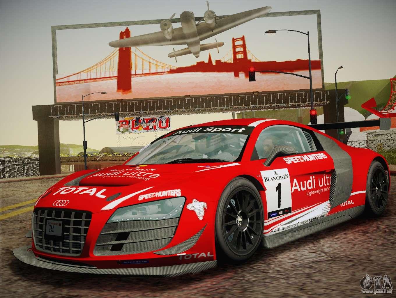 Audi R8 Lms Ultra W Racing Team Vinyls Pour Gta San Andreas