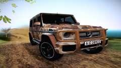 Mercedes Benz G65 Army Style für GTA San Andreas