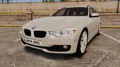 BMW 330d Touring (F31) 2014 Unmarked Police ELS