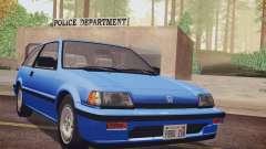 Honda Civic S 1986 IVF für GTA San Andreas