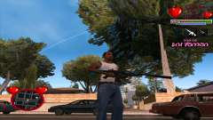 C-HUD Ministry Of Health pour GTA San Andreas