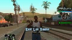 C-HUD by Powwer pour GTA San Andreas