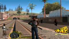C-HUD Vagos by HARDy für GTA San Andreas