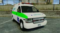 Vapid Speedo Rural Metro EMS [ELS] pour GTA 4