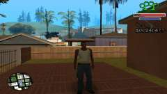 C-HUD Gangster by NickQuest pour GTA San Andreas