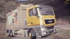 MAN TGS 18.320 Trash Truck für GTA San Andreas