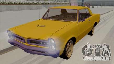 Pontiac GTO rigide 1965 pour GTA San Andreas