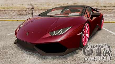 Lamborghini Huracan 2014 Oakley Tuning pour GTA 4