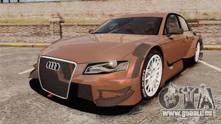 Audi A4 2008 Touring car pour GTA 4