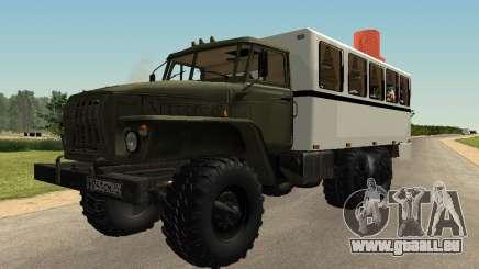 Ural 32551-0011 Uhr für GTA San Andreas