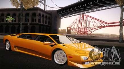 Lamborghini Diablo Stretch für GTA San Andreas