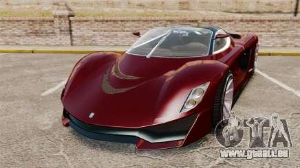 GTA V Grotti Turismo R v2.0 pour GTA 4