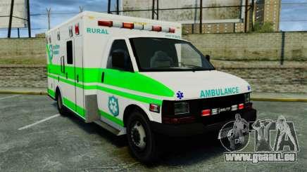 Brute Rural Metro EMS [ELS] für GTA 4